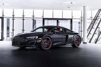 2021 Audi R8 coupe front three quarter, exterior, manufacturer, gallery_worthy