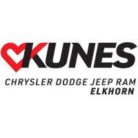 Kunes Country Chrysler Dodge Jeep RAM Elkhorn logo