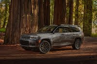 2021 Jeep Grand Cherokee L front three quarter, exterior, manufacturer, gallery_worthy