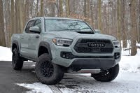 2021 Toyota Tacoma front three quarter, exterior, gallery_worthy
