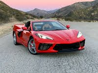 2021 Chevrolet Corvette Convertible 2LT Red Front Quarter View, exterior, gallery_worthy