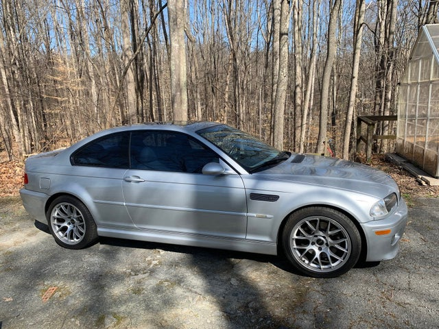 2002 BMW M3 Coupe RWD