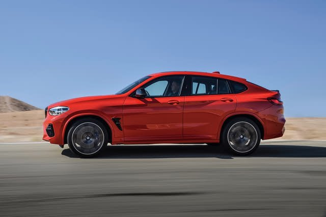 2021 BMW X4 M profile