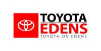 Toyota on Edens logo