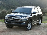 2021 Toyota Land Cruiser Picture Gallery