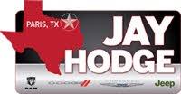 Jay Hodge Dodge Chrysler Jeep Ram of Paris logo