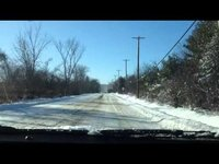 A test of my Chevy Impala SS (2008 ed.) in snowy conditions.