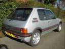 Peugeot 205 GTi 1.9 Tribute, 1989 Phase 1.5, include photos and short video clip (also includes a bit of cheekyness from the Cage Rage Girls),  Unmodified classic 80's Hot hatch that i've owned for ab...