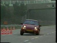 Volvo 480 Turbo test: roadholding
