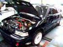 Mazda GTR producing 280bhp at 1.2Bar Boost