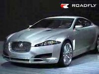 Jaguar XF Concept, shown at the 2007 North American International Auto Show in Detroit.