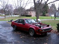 Startup of Open Header 1UZ Swapped Mk2 Supra