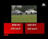 A french comparison between the new M3 and the RS4.