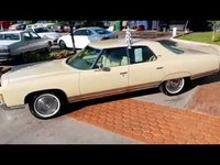 1971 Chevrolet Caprice 4dr No Post
