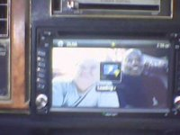 Double Din DVD radio in 1984 Buick Lesabre