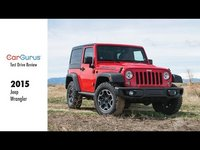 The 2015 Jeep Wrangler can get you just about anywhere you might want to go.