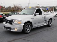 An in-depth review of a similar 2001 Ford F-150 SVT Lightning.