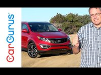 A turbocharged 2.0-liter 4-cylinder engine is standard for the Sportage SX, one of the most powerful engines you can get in a compact crossover SUV at any price.