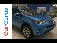 Sporting more horsepower and about equal cargo space when compared to its gas counterpart, the 2016 Toyota RAV4 Hybrid is a sensible option for those shopping in the midsize SUV segment.