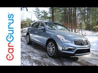 The new 2016 Infiniti QX50 features more legroom and a comfortable interior. With a 325-horsepower V6 engine and rear- or all-wheel drive, youll find it sportier than your average crossov