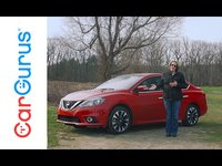 The 2016 Nissan Sentra provides great fuel economy and nimble maneuverability, impressive trunk space, and just enough interior room for 5 adults.  The Sentra receives a refreshed look for 2016, kee...