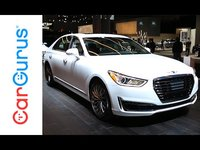 The 2017 G90 is approaching the BMW 7 Series, Audi A8, and Mercedes-Benz S-Class head-on, not too mention the non-German competitors from Acura, Lexus, and Cadillac. With two engine options, upscale i...