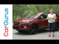 The 2017 Ford Escape gets a facelift as well as interior enhancements that make it more functional and more user-friendly. Engine options include the standard 2.5-liter 4-cylinder, a turbocharged 1.5-...