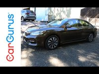 The Honda Accord has gone about its business for 30 years, delivering reliable, comfortable transportation to millions upon millions of shoppers without any flash. This Honda Accord Hybrid, however, p...